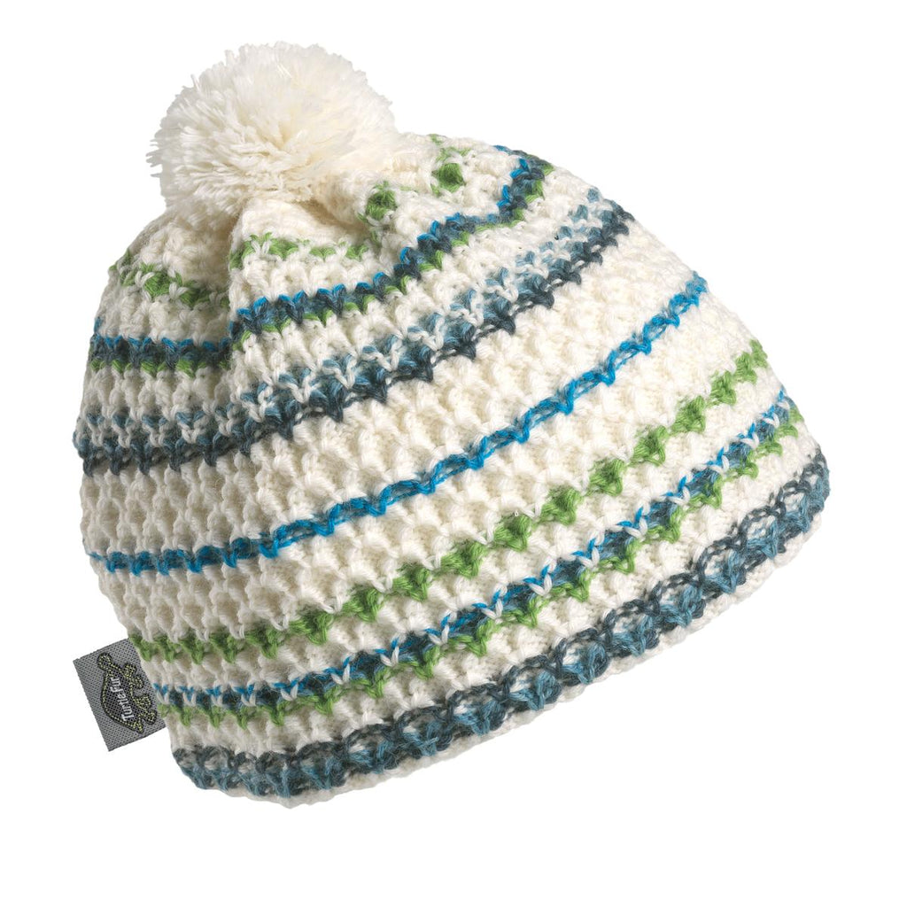 Serena Knit Beanie / Color-White