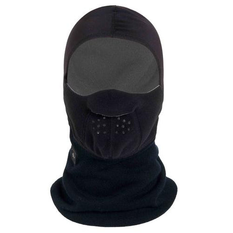 Switchback Polartec Windbloc Fleece Maskot Balaclava / Color-Black