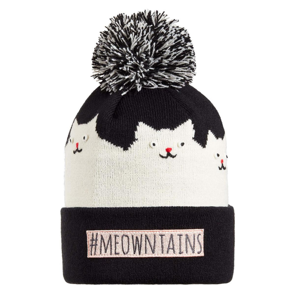 Kids #meowntains Pom / Color-Black