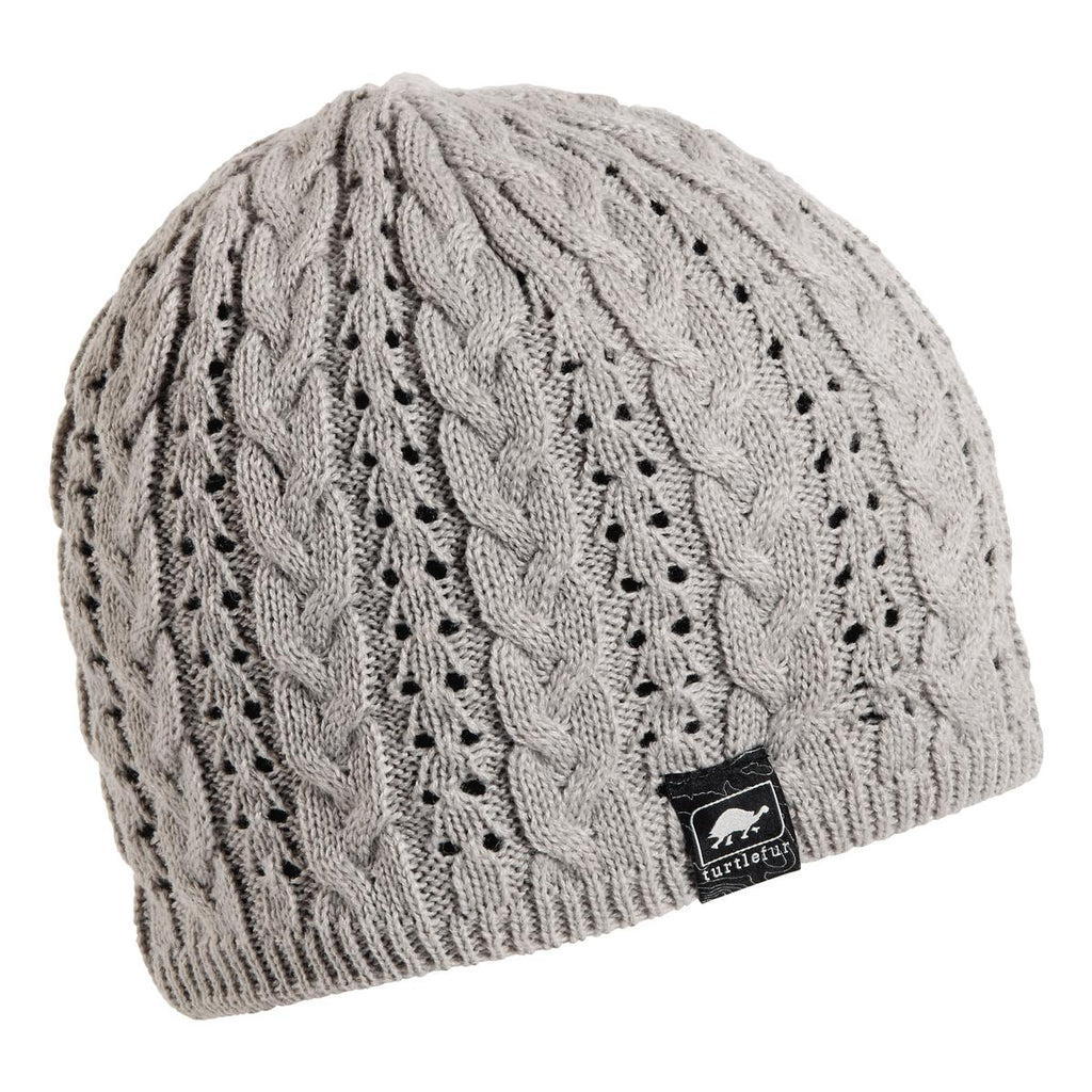 Zelda Knit Beanie / Color-Silver