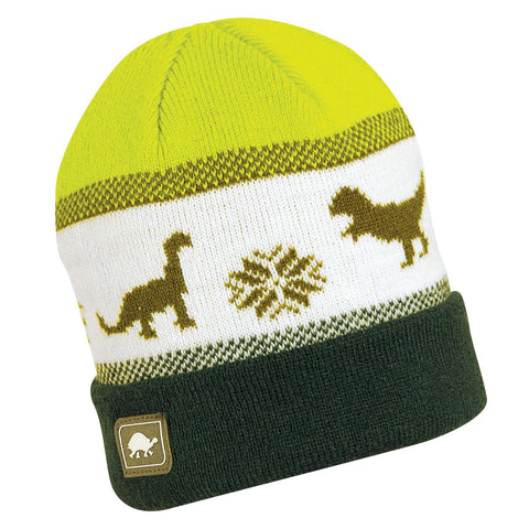Toddler Dino Storm Beanie / Color-Forest