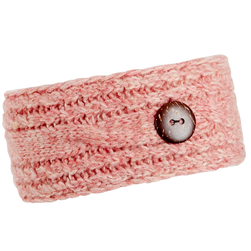 Recycled Angie Headband / Color-Teaberry