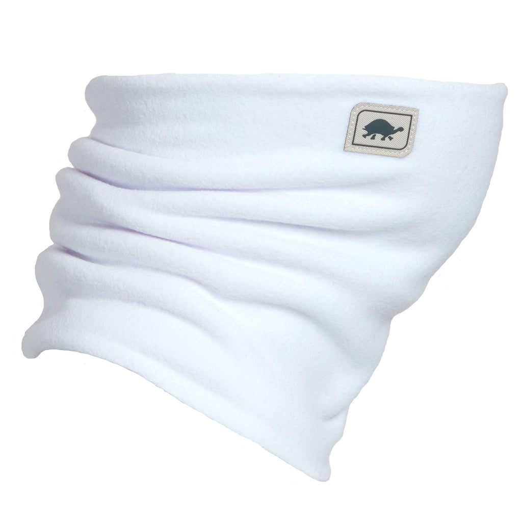 Kids' Double-Layer Neck Warmer / Color-White