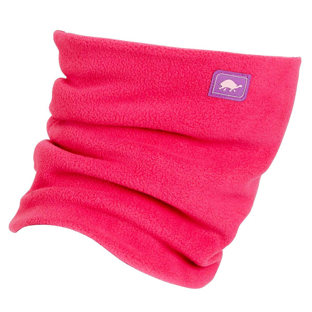 Chelonia 150 Fleece Double-Layer Neck Warmer / Color-Positively Pink