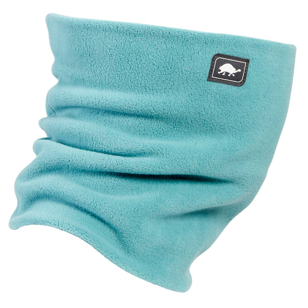 Double-Layer Classic Neck Warmer / Color-Sea Glass
