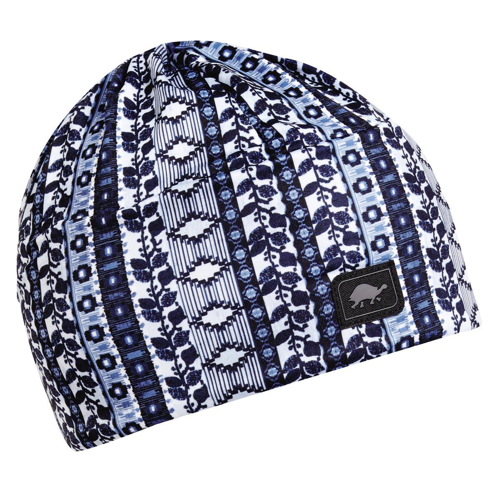 Outandabout Beanie Fully-lined w/ Sherpasoft / Color-Tangled Up In Blue