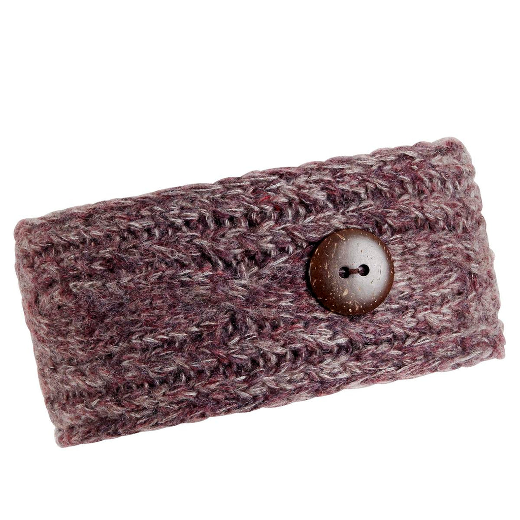 Recycled Angie Headband / Color-Winter Berry