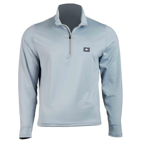 Men's Comfort Shell Carapace High Energy 1/4 Zip / Color-Light Gray