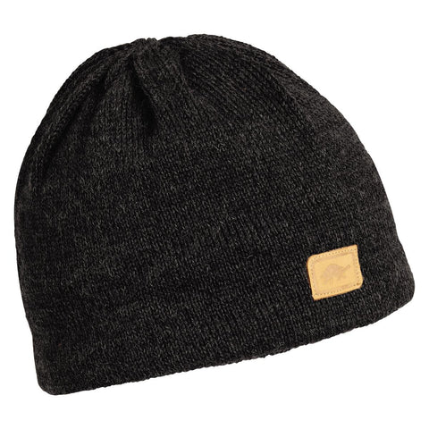 Classic Wool Beanie / Color-Black