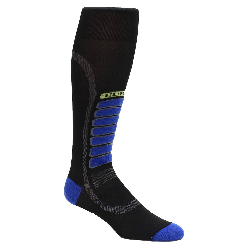 Ultra Lightweight Silver Ski Light OTC Sock / Color-Black