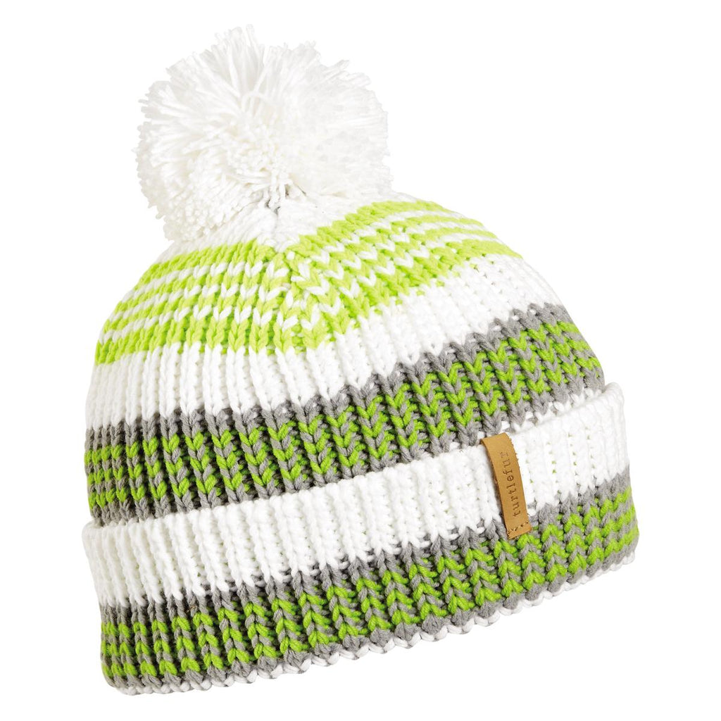 Rails Pom Beanie / Color-White