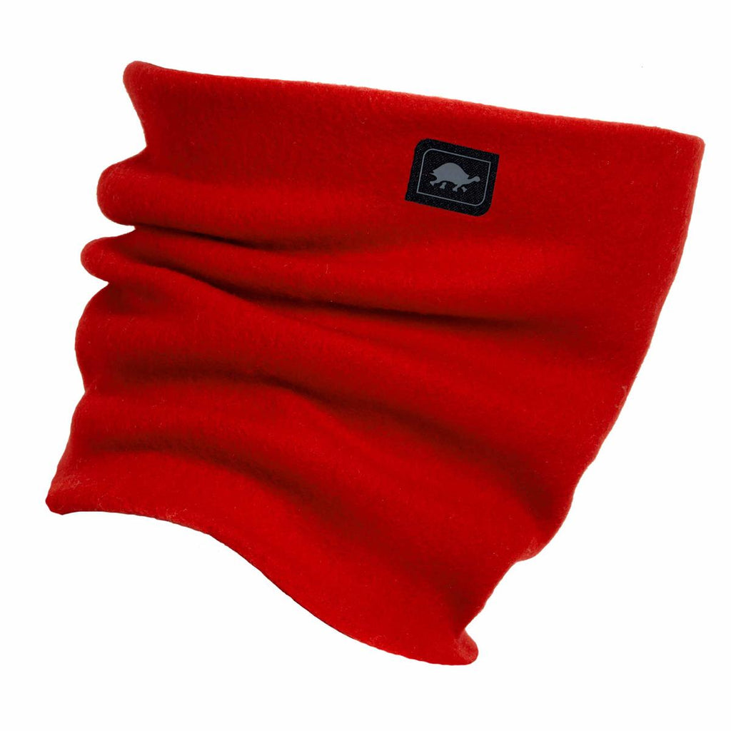 Original Turtle Fur Fleece The Turtle's Neck Warmer / Color-Red