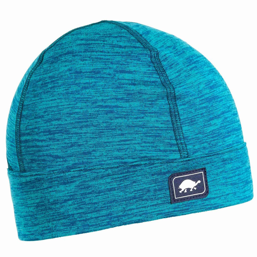 Comfort Shell Stria Conquest Ponytail Beanie / Color-Oasis