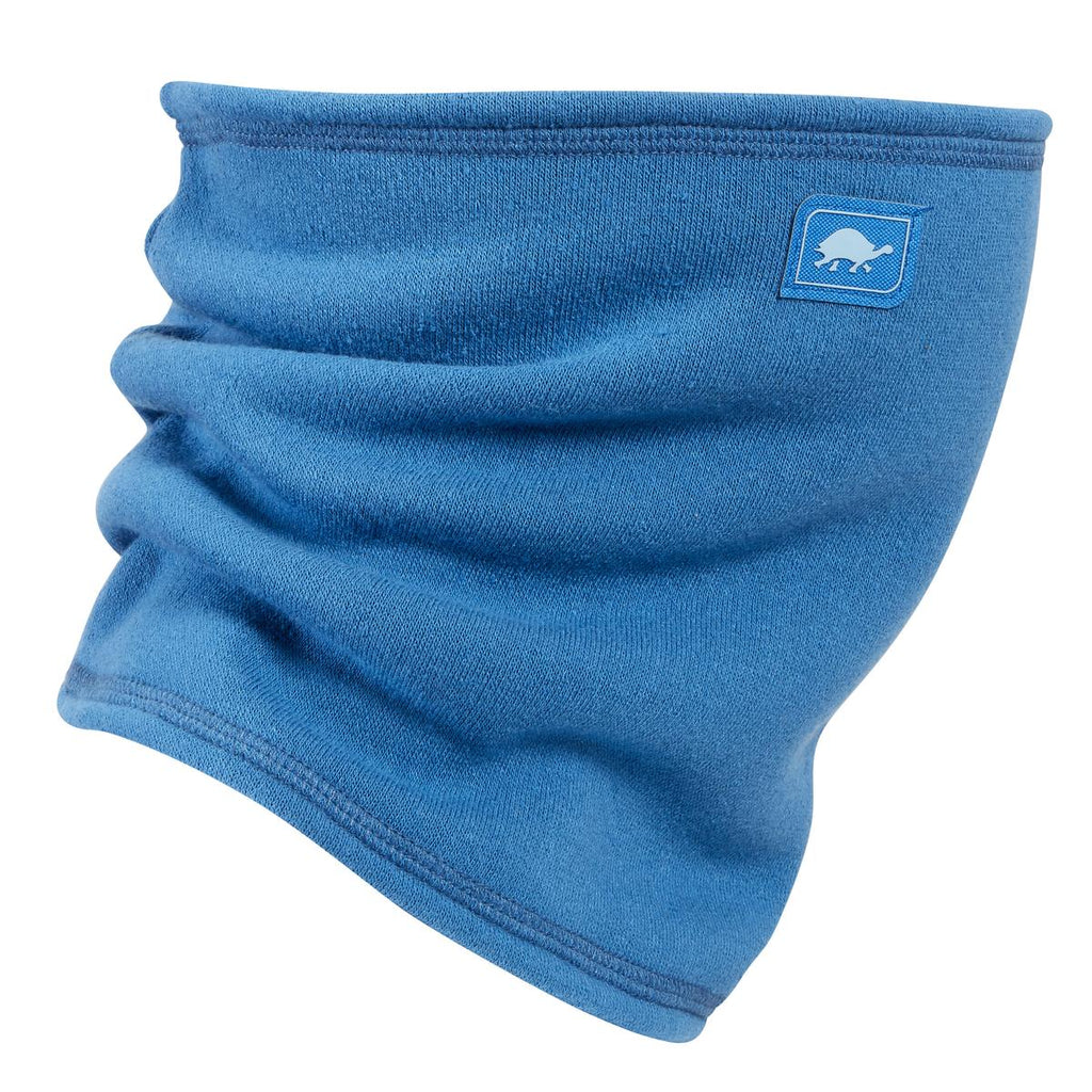 Switchback Jersey Fleece Neck Gaiter / Color-Into The Blue