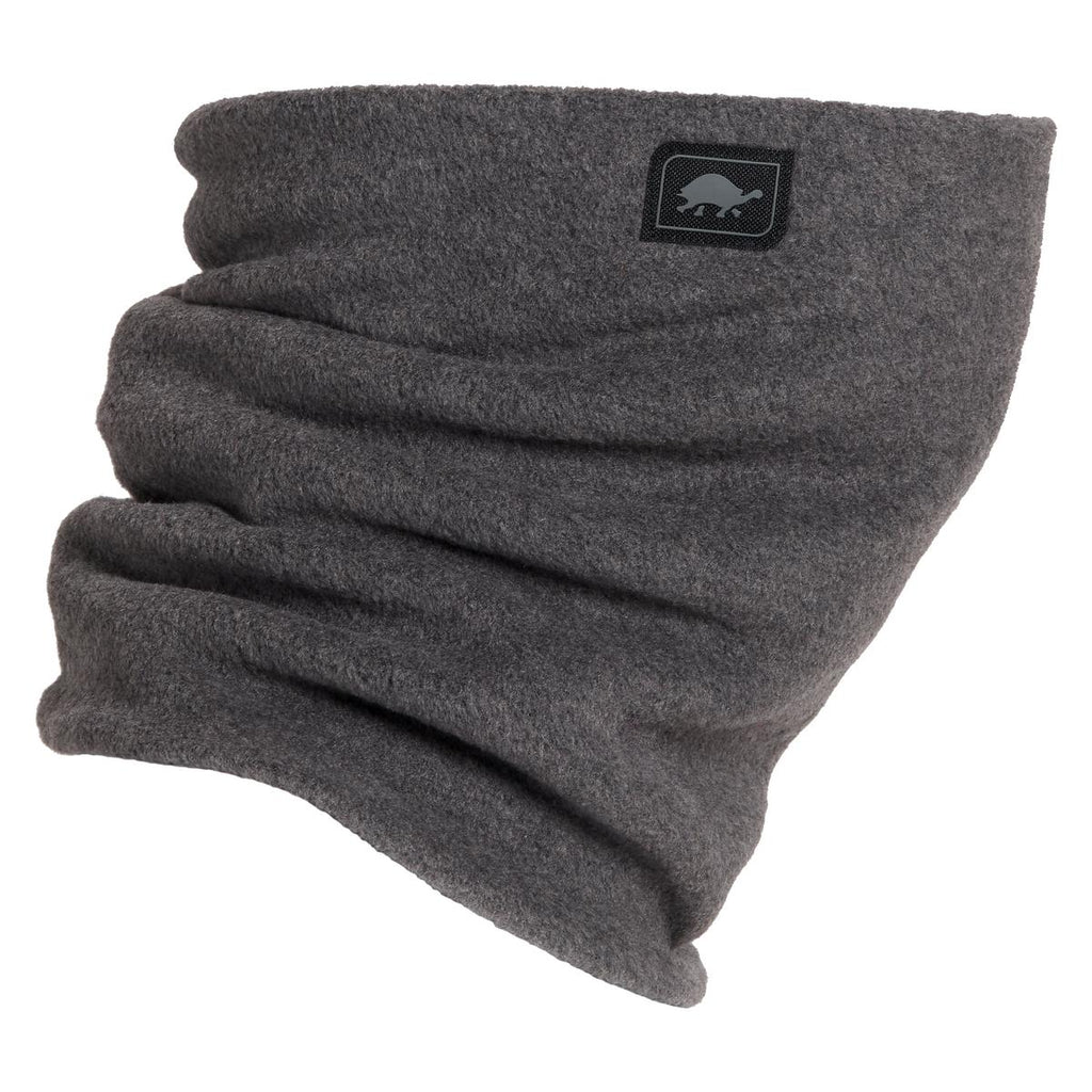 Double-Layer Classic Neck Warmer / Color - Charcoal