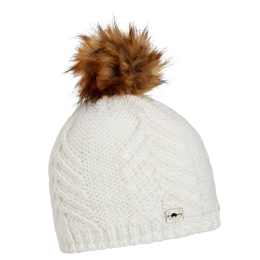 Tahoe Faux Fur Pom / Color-White