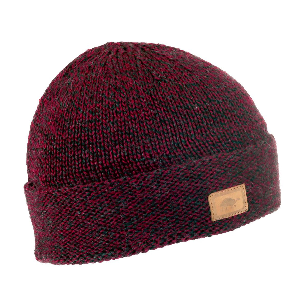 Phillip Watch Cap Ragg Wool Beanie / Color-Red