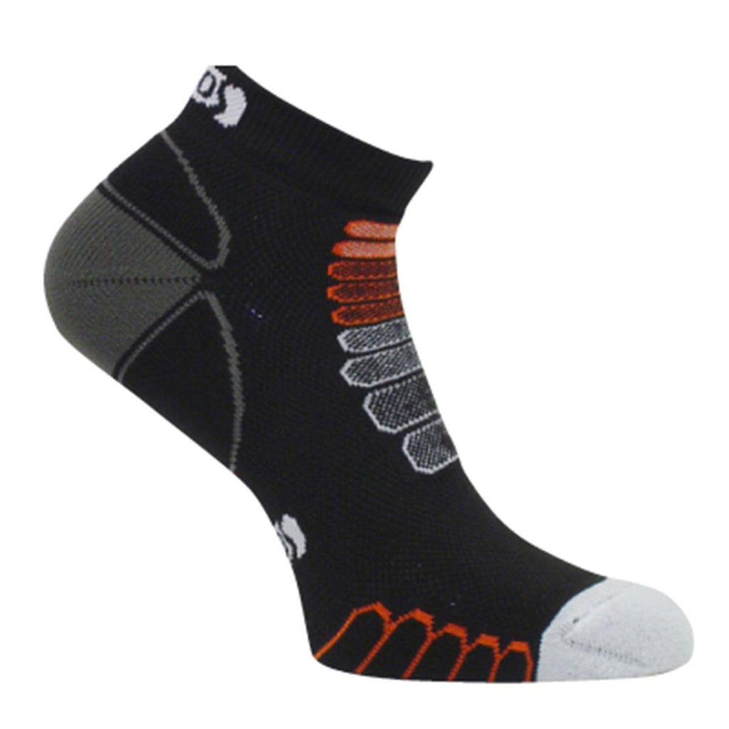 Eurosock Ultra Light Sprint Silver Ankle Sock / Color-Black