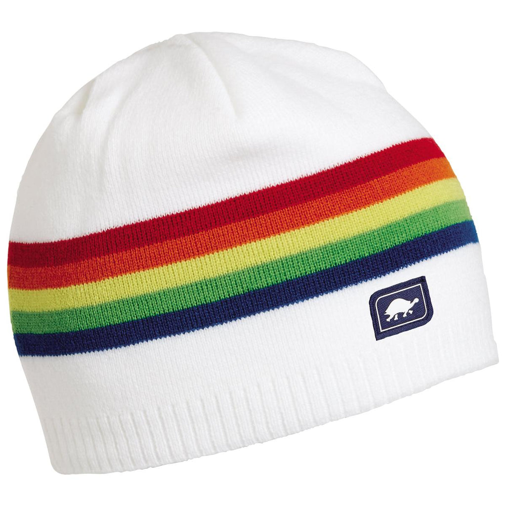 Bright Knit Beanie / Color-White