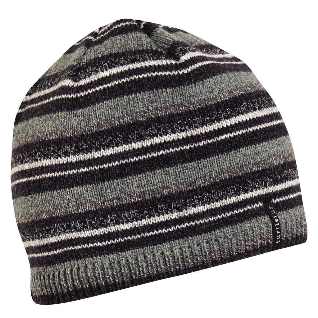 Rowen Ragg Wool Beanie / Color-Black