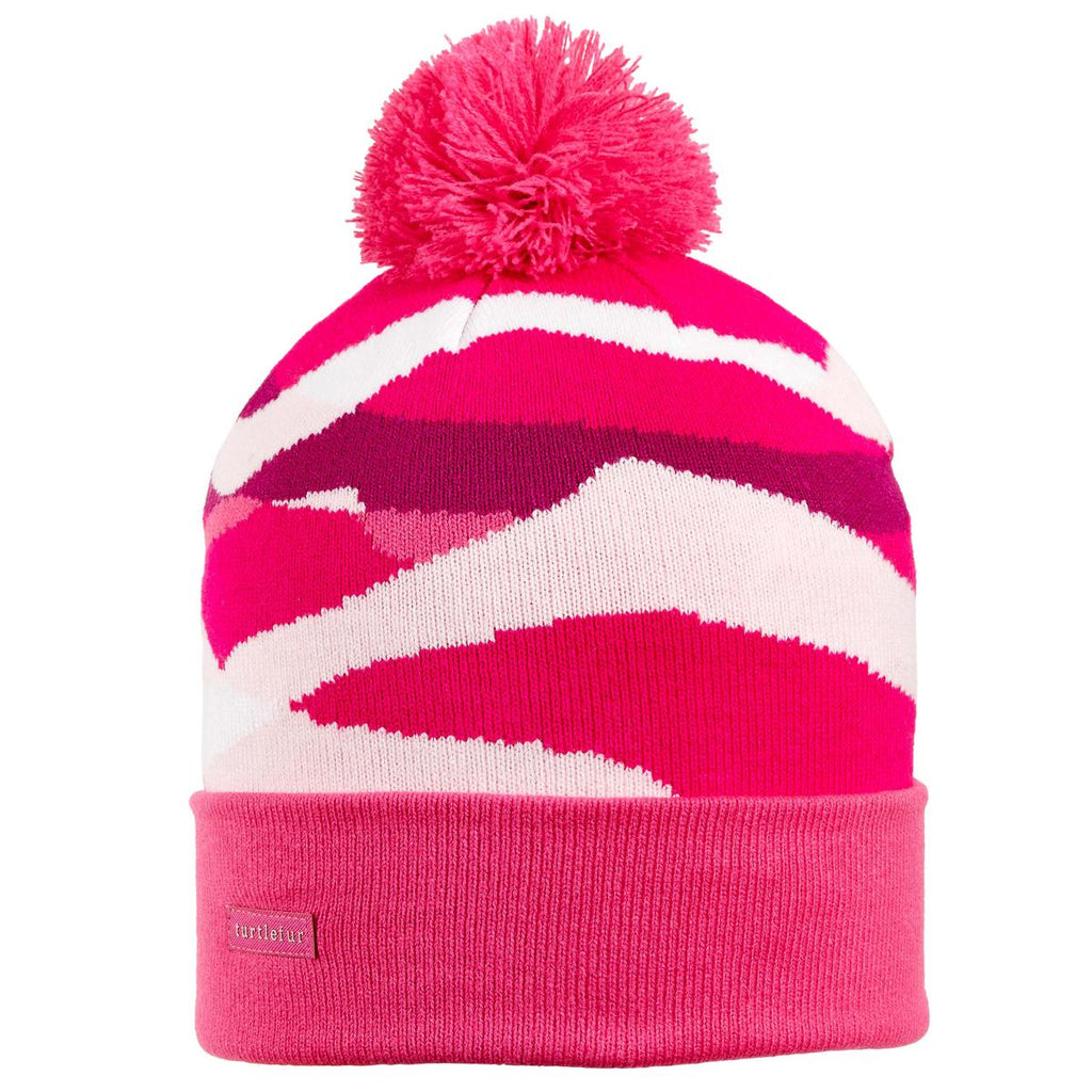 Youth Mountain Waves Pom / Color-Pink