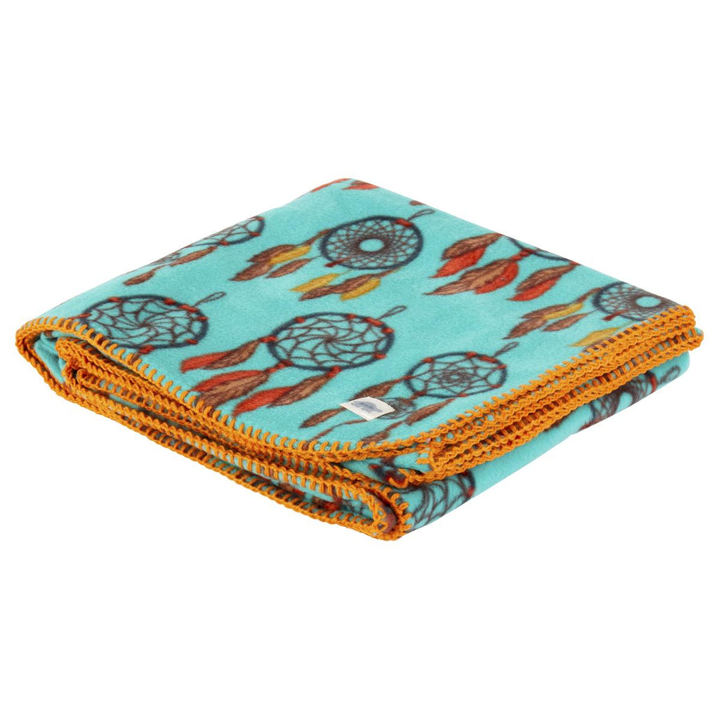 Classic Fleece Camping Blanket / Color-Dreamcatcher