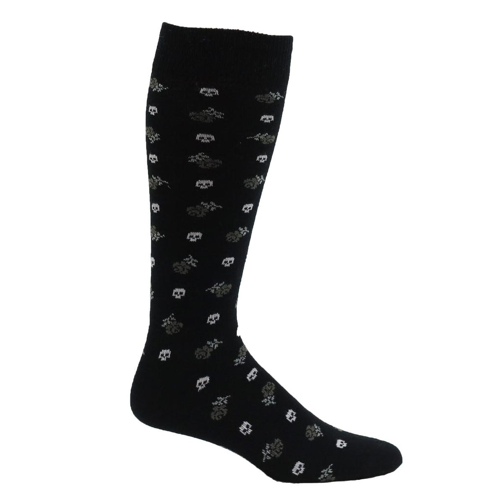Lightweight OTC Graphic Sock / Color-Black