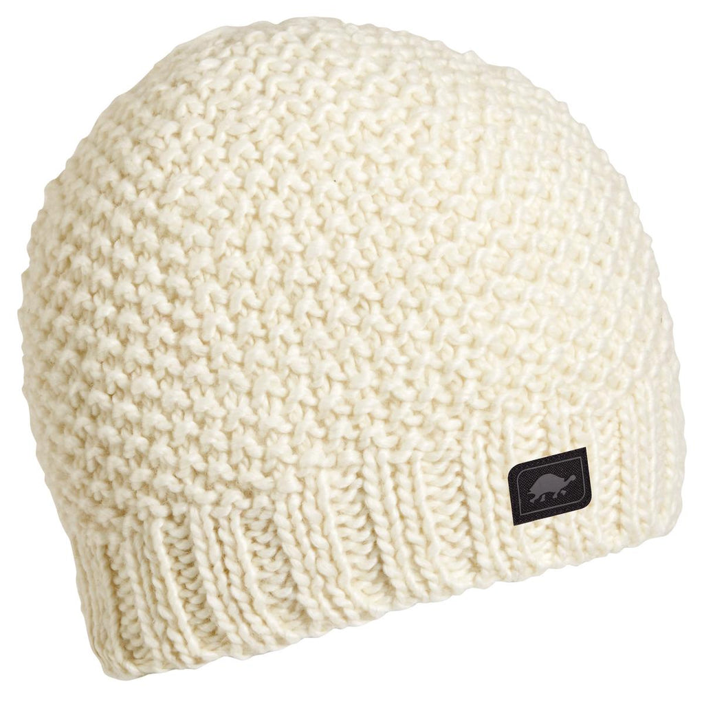 Minty Fresh Wool Blend Beanie / Color-White