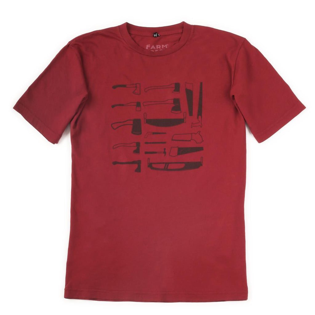 Men's I Came, I Saw T-Shirt / Color-Red