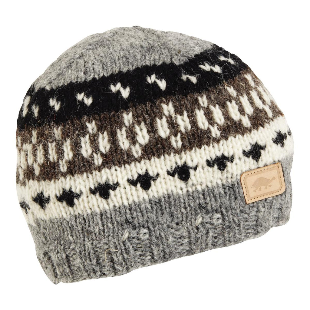 Kanan Hand Knit Beanie / Color-Charcoal