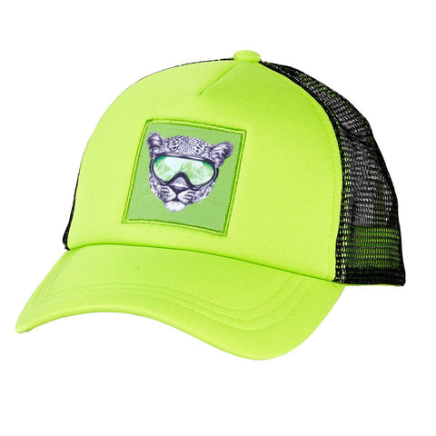 Kids Snow Creature Trucker / Color-Cheetah