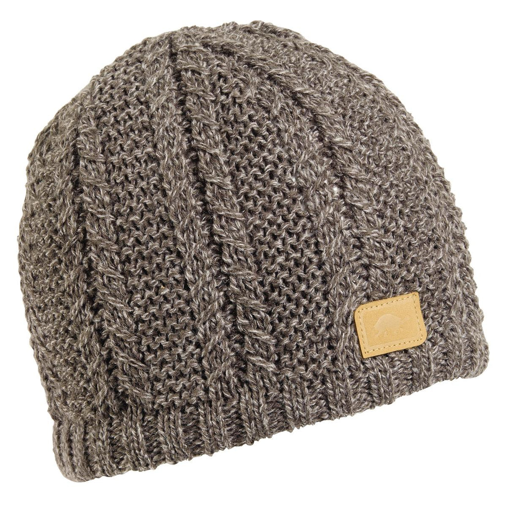 Finn Knit Beanie / Color-Gray