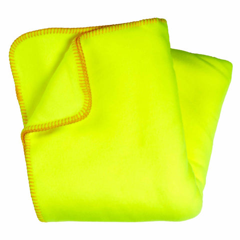 Original Turtle Fur Fleece Throw Blanket / Color-Glo Stik