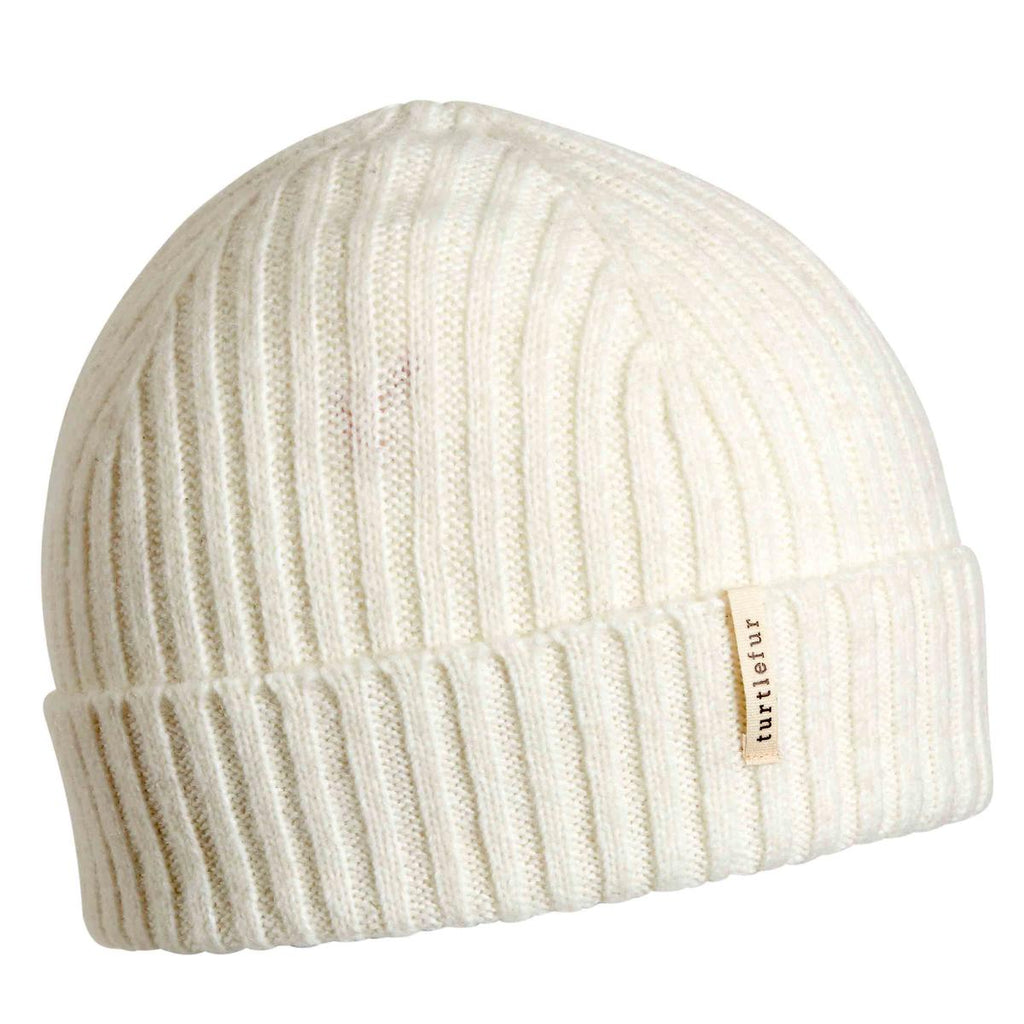 Recycled Clara Beanie / Color-White