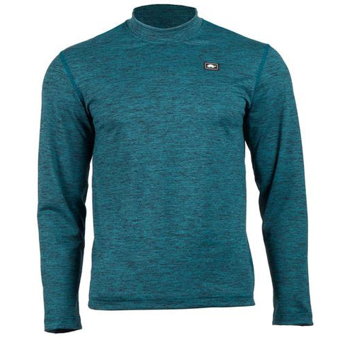Men's Comfort Shell Stria Base Camp High Energy Crew / Color-Evergreen