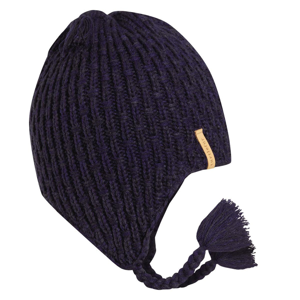 Khan Earflap Hat / Color-Navy