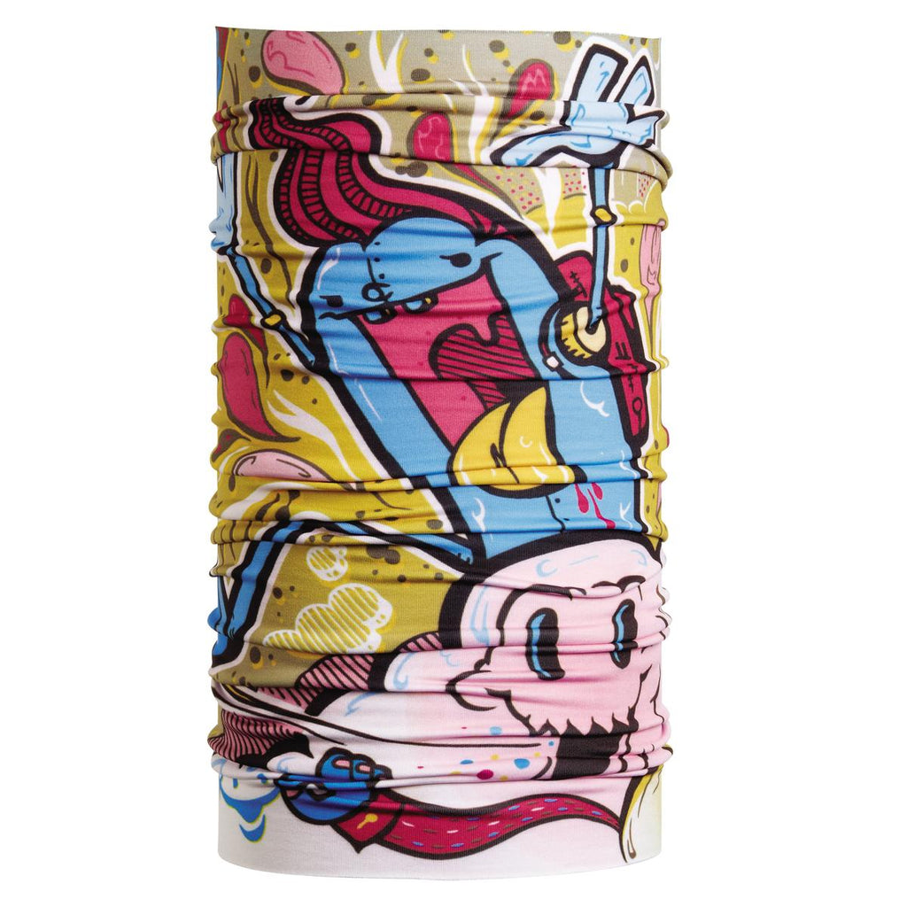 Lightweight Totally Tubular Headwear, Limited Edition Prints / Color - Wacky World