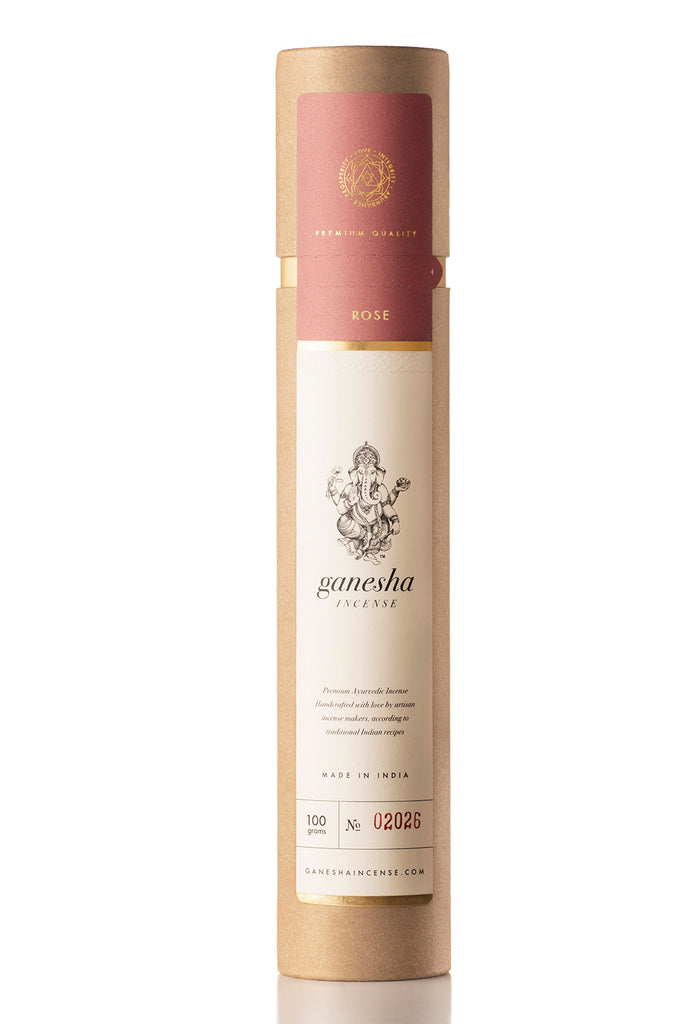 Rose Gold - Premium Ayurvedic Incense (100g)