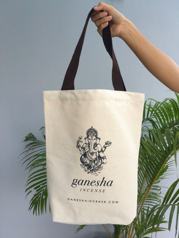Canvas Tote Bag by Ganesha Incense