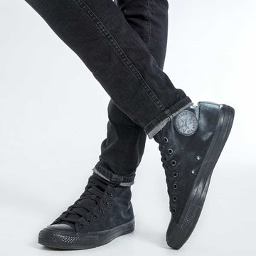 Ebony Crosshatch Jeans - Black - S.P.C.C.® Official Online Store