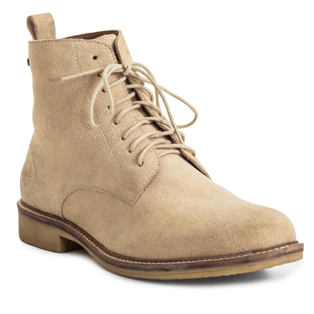Shop Suede Combat Boots - Stone for R 1799.95 | Footwear | 20P, Boots, CM2018, Feb-W17, Footwear, Men, New In - W17, SALE-S16, Sale-S17, W40P | S.P.C.C | Sergeant Pepper Clothing Co