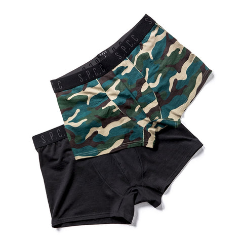 Shop Royal Boxers Black/Camo (2 Pack) for R 399.95 | Accessories | Accessories, Black, Boxers, briefs, Camo, Men, New In - S18, September 18, Underwear | S.P.C.C | Sergeant Pepper Clothing Co
