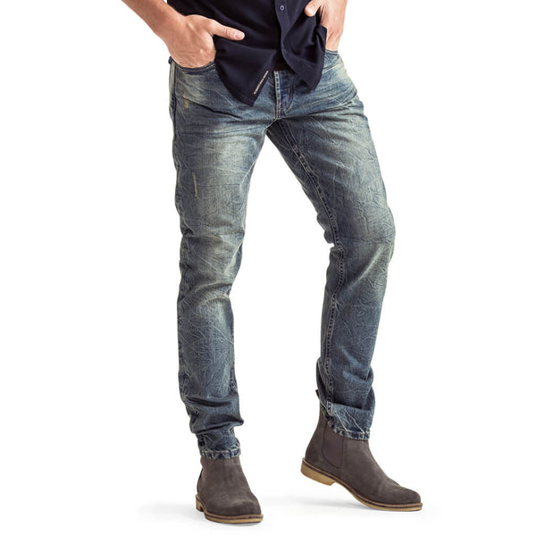 SPCC | Stovepipe jeans | Blue | Grey