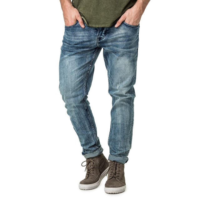 Feather Slim Fit Denim Jeans - Deep Indigo