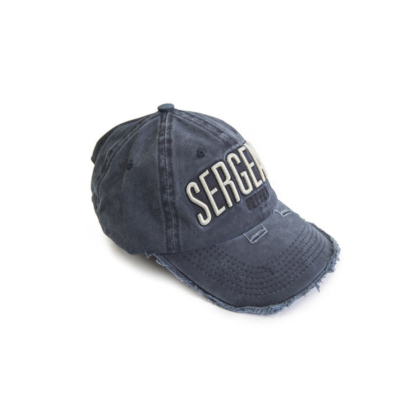 SPCC | Baseball cap | Embroidered logo | Blue | Rip and repair