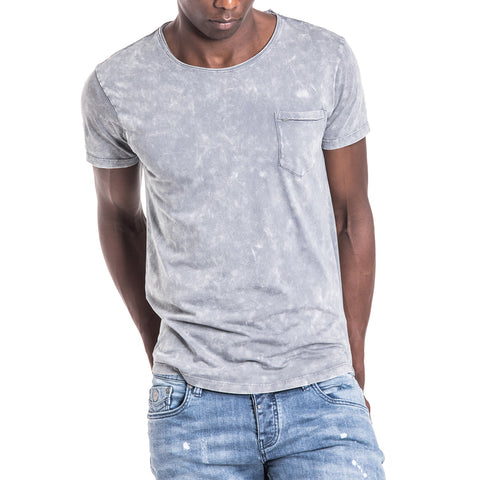 Shop Smoke T-Shirt - Bleached Grey for R 399.95 | T-Shirts | A/W 18, May 18, Men, New In-W18, T-Shirts | S.P.C.C | Sergeant Pepper Clothing Co