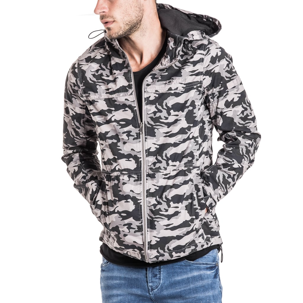 Alpine Jacket - Grey Camo