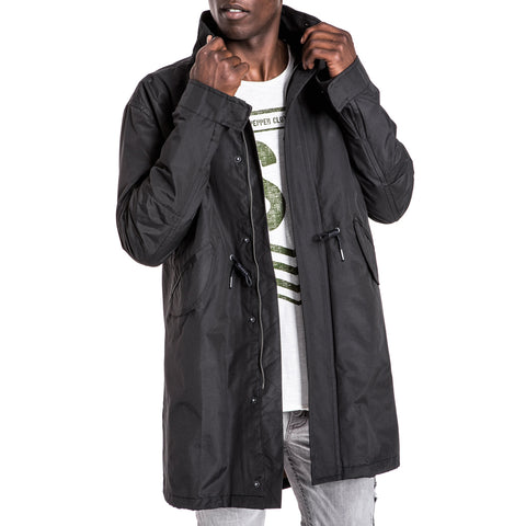 Shop Baikal Parka Jacket - Black for R 1999.95 | Jackets | A/W 18, Black, Jackets, May 18, Men, New In-W18 | S.P.C.C | Sergeant Pepper Clothing Co