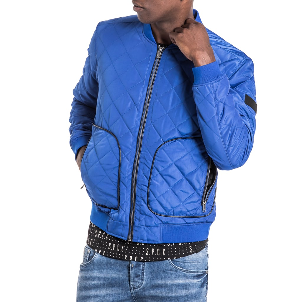 Shop Gunner Pilot Jacket - Cobalt Blue for R 1599.95 | Jackets | A/W 18, Jackets, March 18, Men, New In-W18 | S.P.C.C | Sergeant Pepper Clothing Co