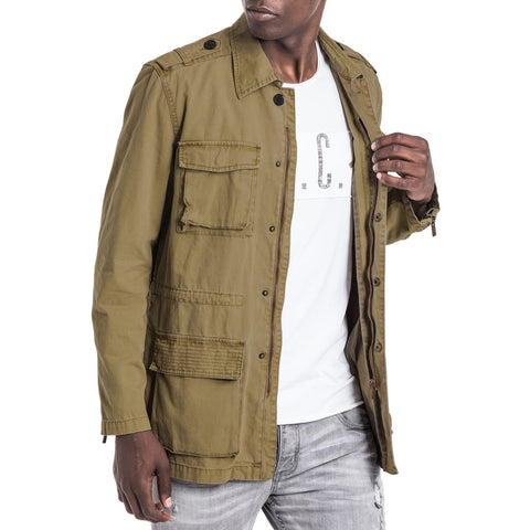 Shop Sand Man Jacket - Tobacco for R 1399.95 | Jackets | A/W 18, Jackets, May 18, Men, New In-W18 | S.P.C.C | Sergeant Pepper Clothing Co